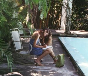Writing at Finca Vigía, Hemingway's Cuba home